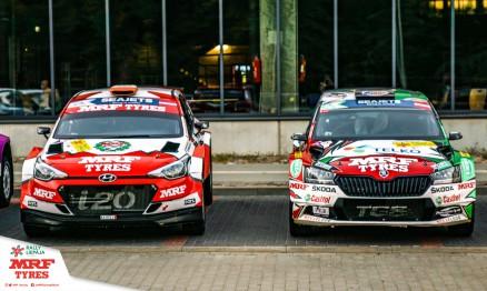 Objetivo cumplido para el  Team MRF Tires en el Rally di Roma Capitale