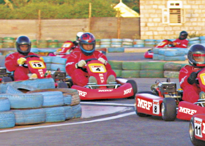 Imagen de presentación de los neumáticos de karting