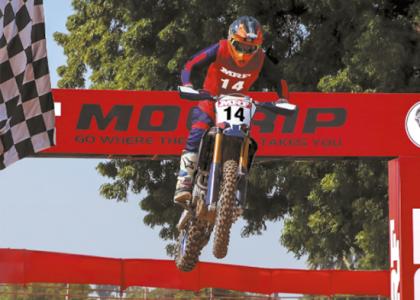 Imagen de presentación de los neumáticos de motocross
