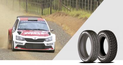 Imagen de presentación de los neumáticos de rally